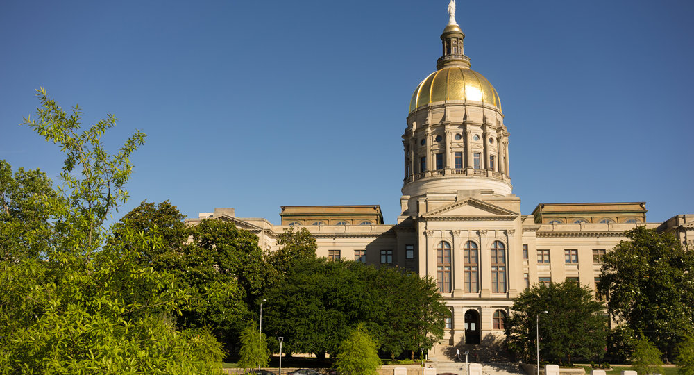 Atlanta Georgia State Capital Gold Dome