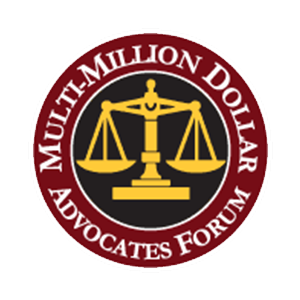 logo of the multi-million dollar advocates forum