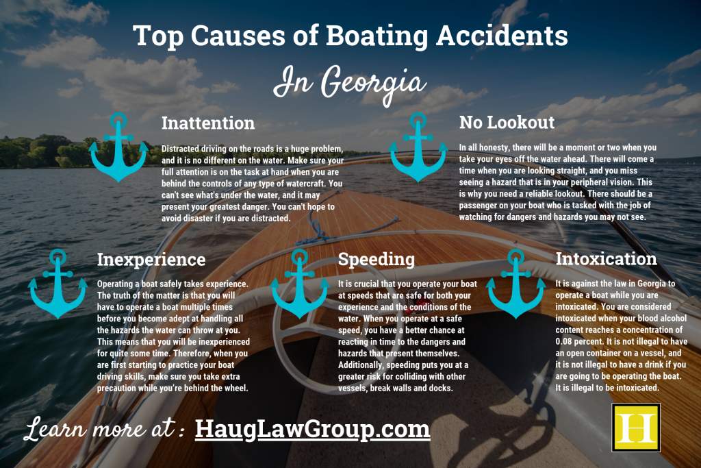 Top Causes of Boating Accidents in Georgia