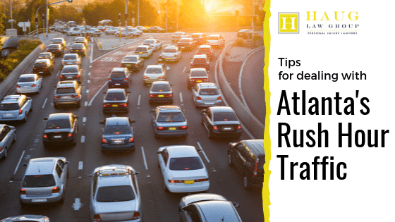 Tips for Dealing with Atlanta's Rush Hour Traffic