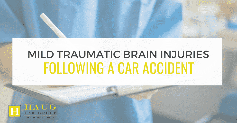 Mild Traumatic Brain Injuries Following a Car Accident