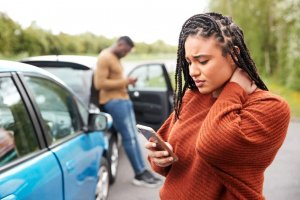 Accident victim calls personal injury lawyer