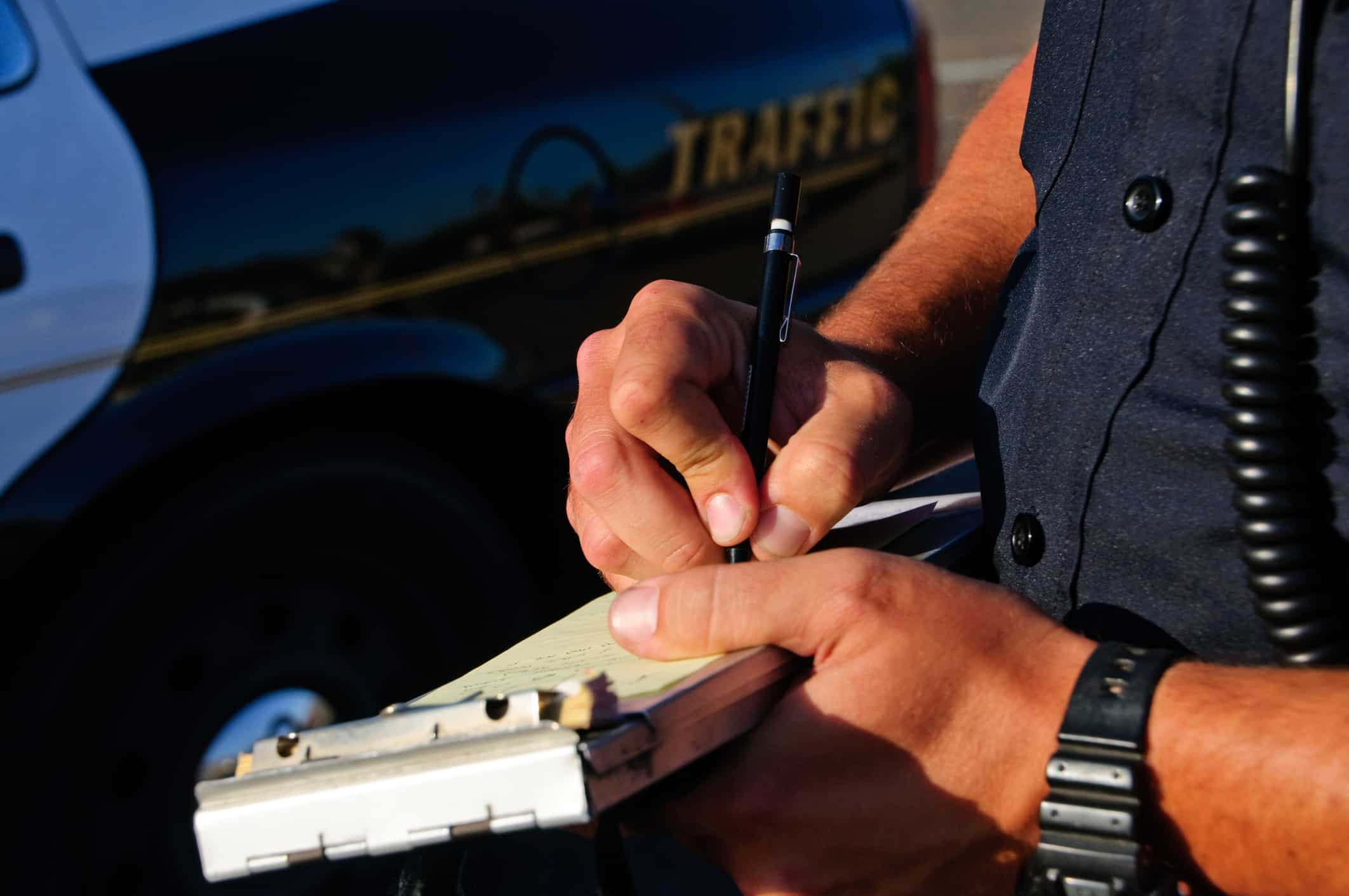 can i recover damages even if i was issued a ticket